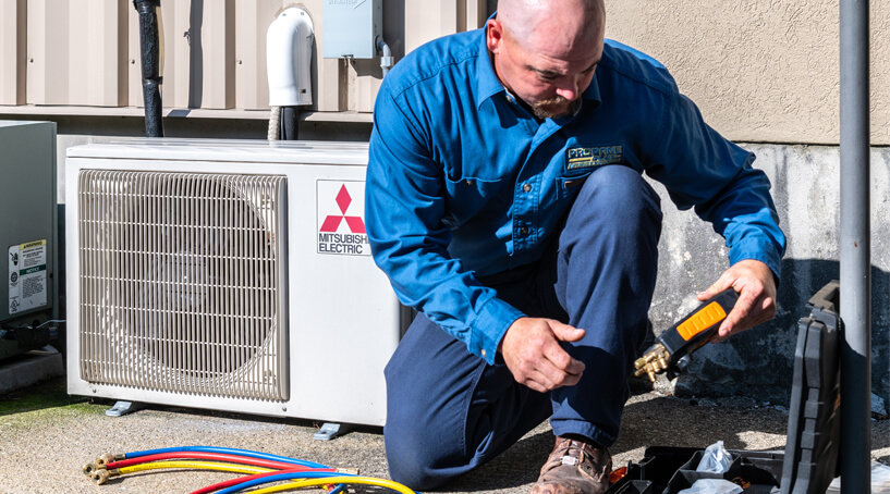 HVAC technician for installation-repair-maintenance for homes in MA and RI