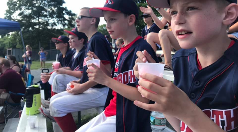 Propane Plus offers local community support for baseball leagues in Rehoboth, Dighton and Swansea MA