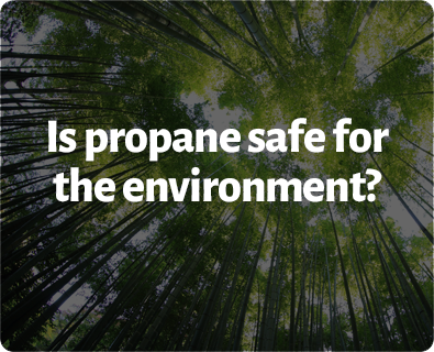 Is propane safe for the environment?