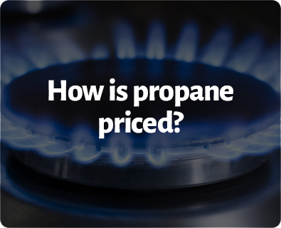 How is propane priced?