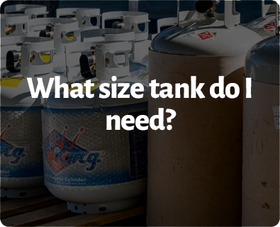 What size tank do i need?