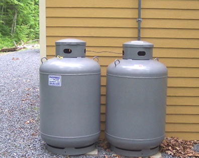 home standby generator propane tanks