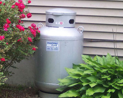 small home propane tank